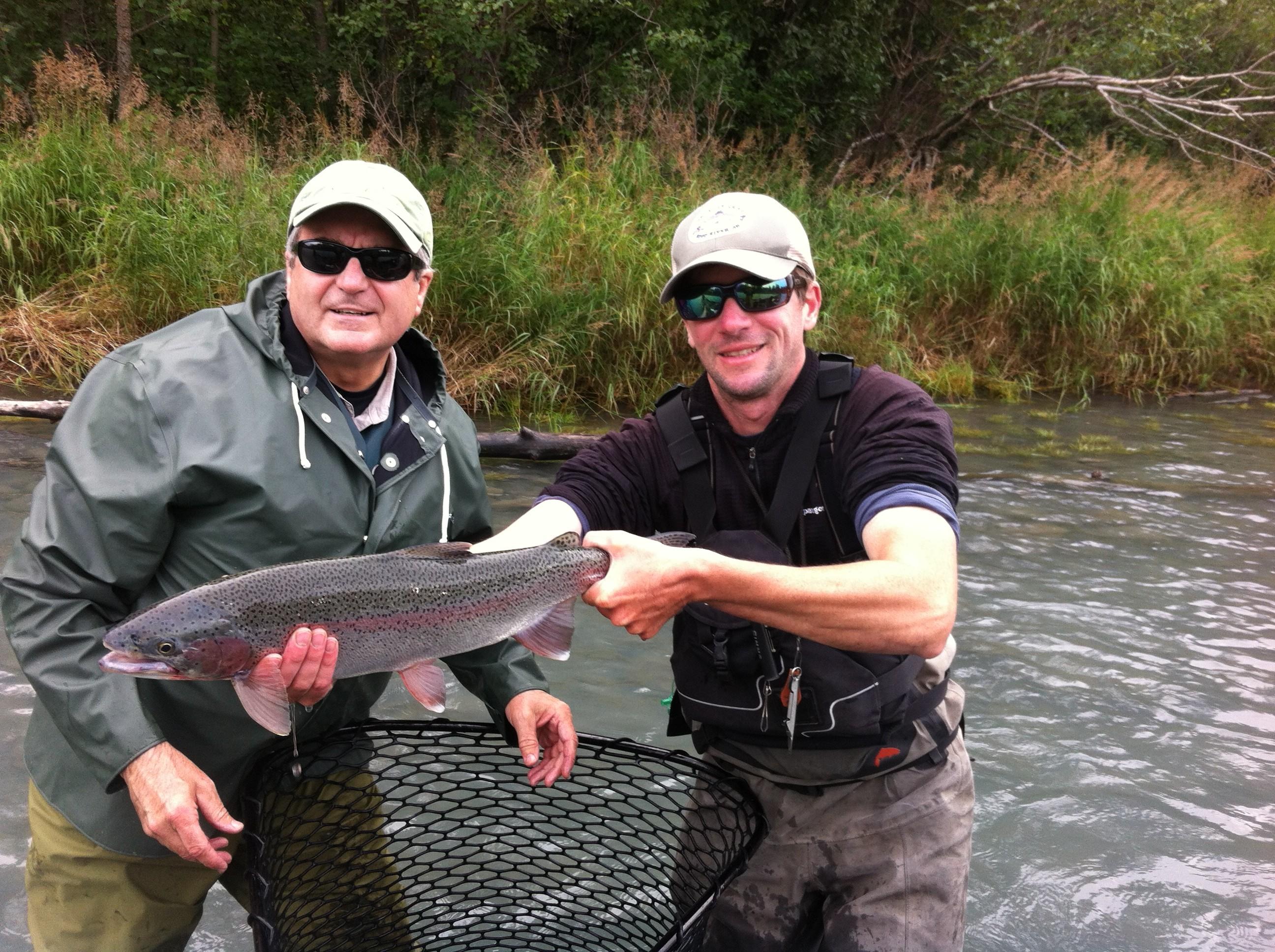 Kenai river fishing pictures kenai river trout anglers for Kenai river fishing