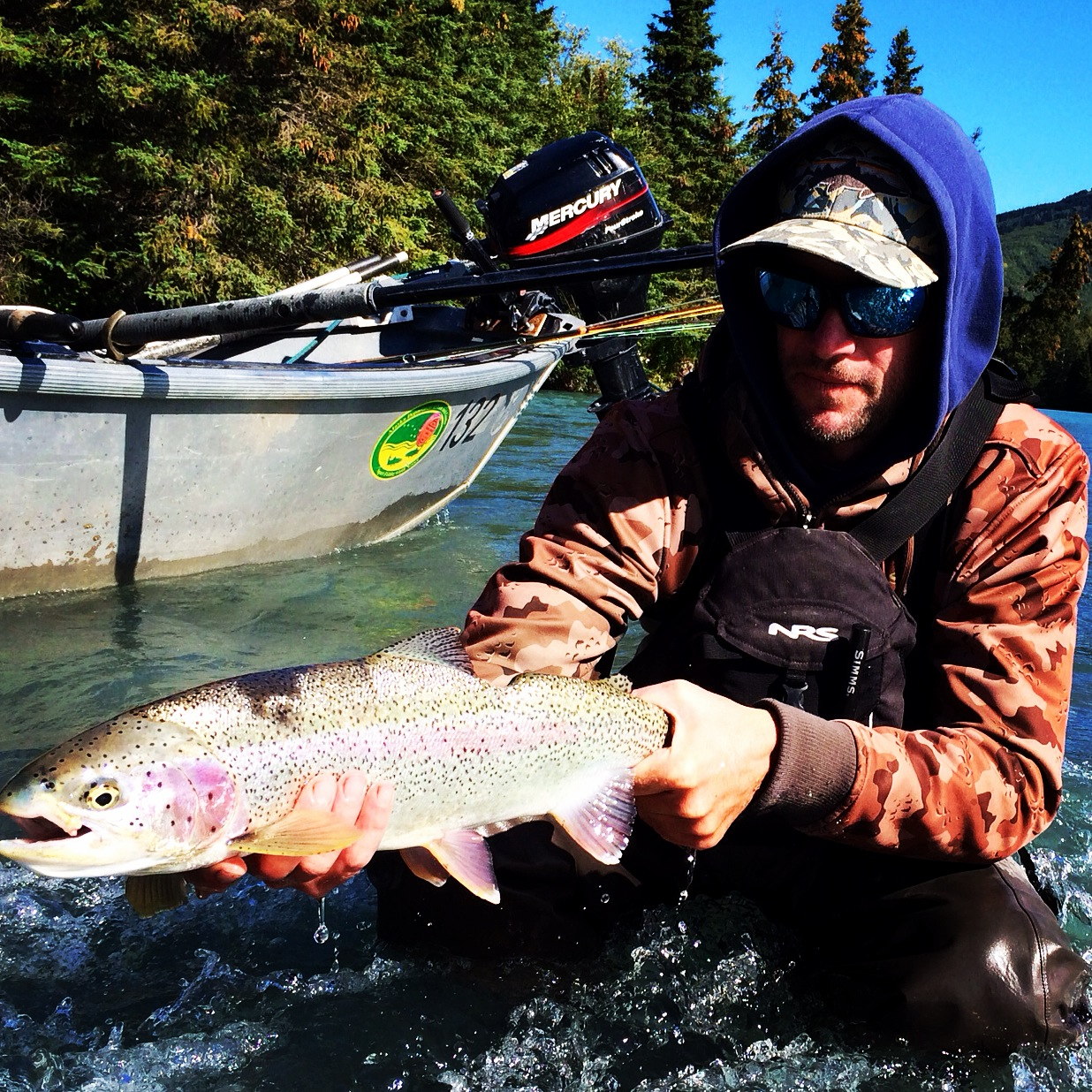 Kenai river fishing guide kenai river fly fishing cooper for Cooper landing fishing guides